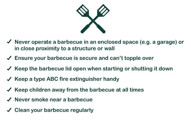 More barbecue safety tips