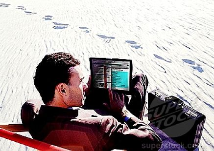Yes! You want to use your word processor on the beach!