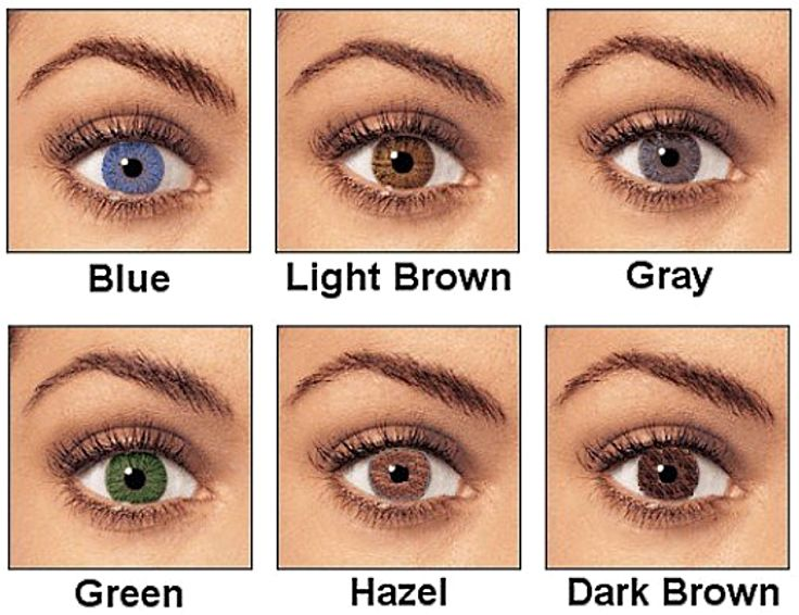 Light brown eyes vs dark brown eyes