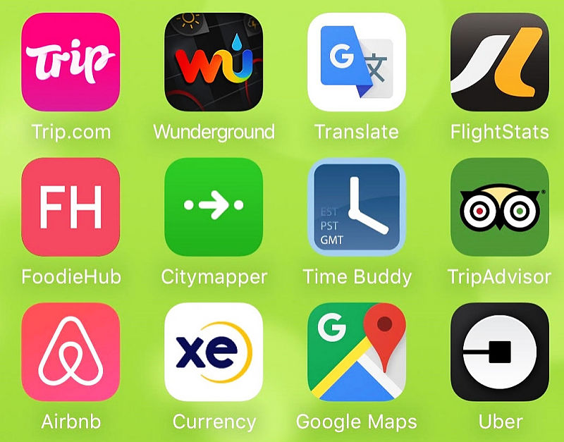Great apps for General travel