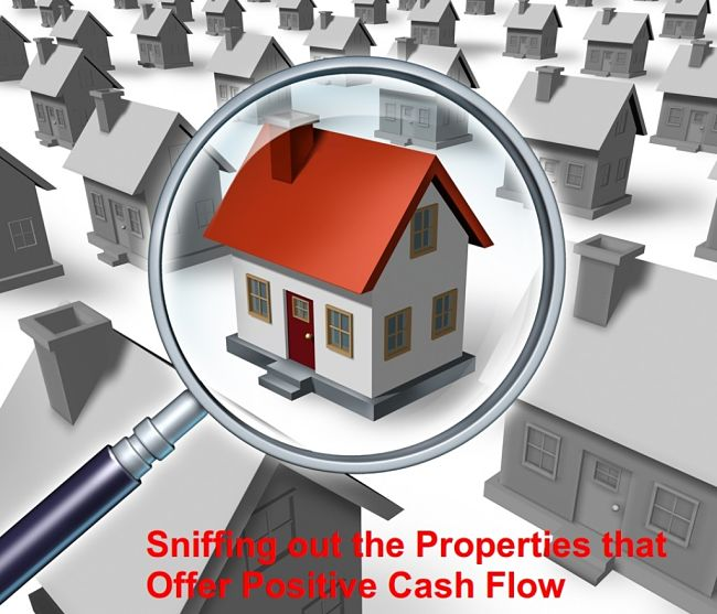 Sniffer helps you to find Positive Cash Flow Properties in a Sea of Negatives