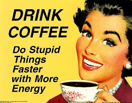 Yes coffee boosts attention and alertness