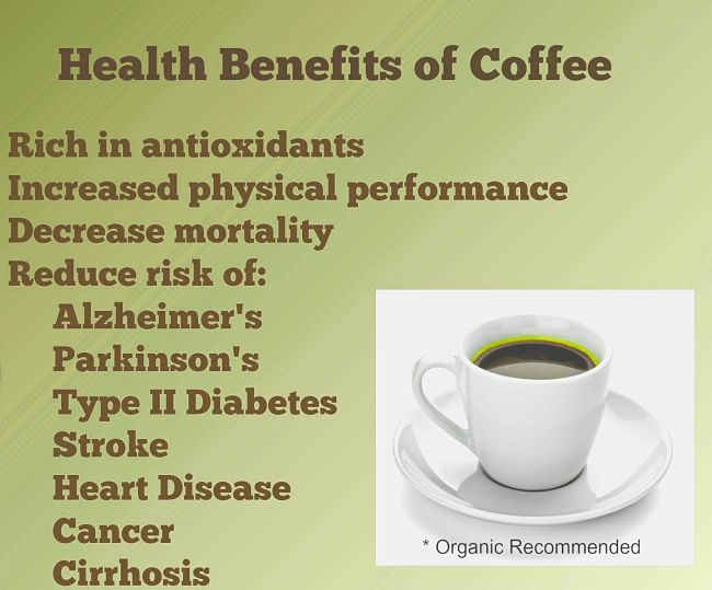 Additional Health Benefits of Coffee
