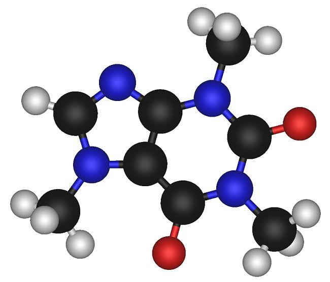The caffeine molecule - so small but so powerful