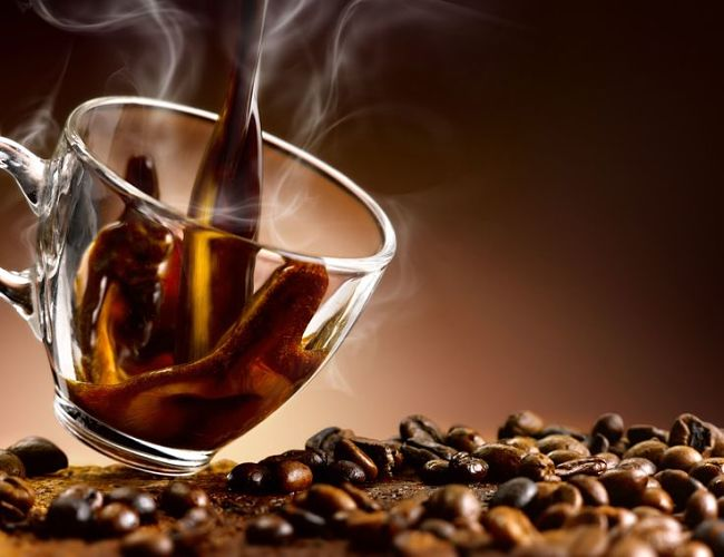 Coffee can be very strong and alternatives can be gentler and can contain caffeine