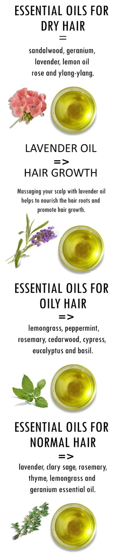 Ways to using natural essential oils for keeping your hair healthy, shiny and manageable