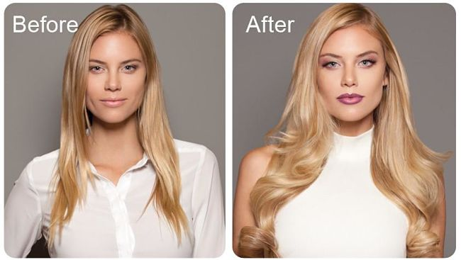 Before and After simple treatments to add volume to your hair. So how to do it in this article