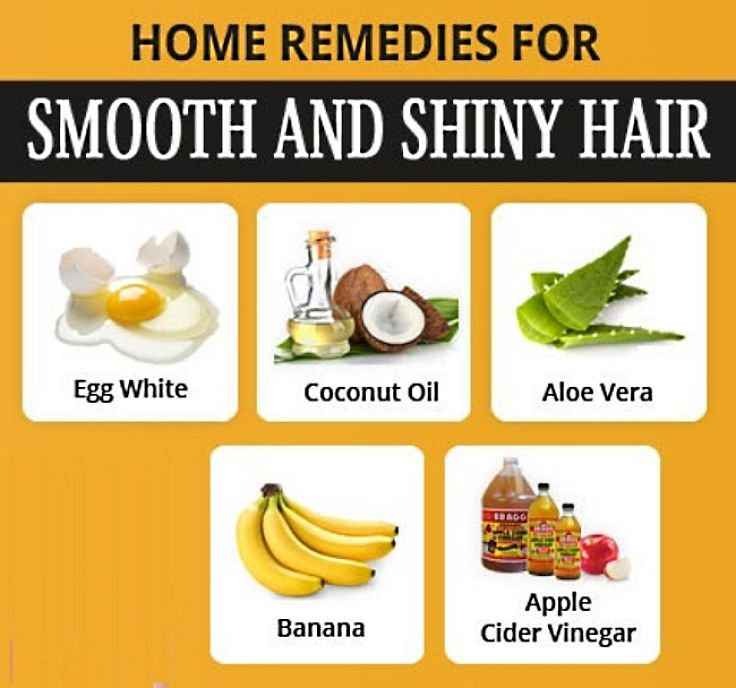 Natural remedies to keep your hair smooth, shiny and moist. See the details in this article