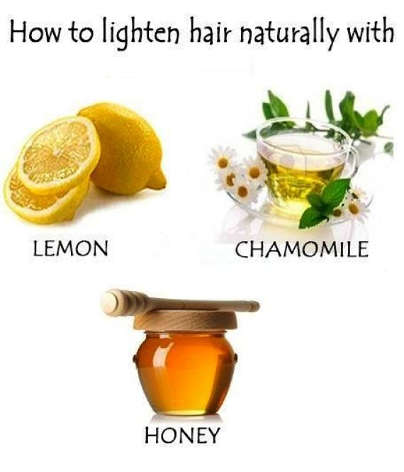 Natural ways to lighten your hair using gentle home remedies and simple ingredients