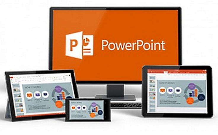 Powerpoint and other similar presentation software packages are widely available and used.