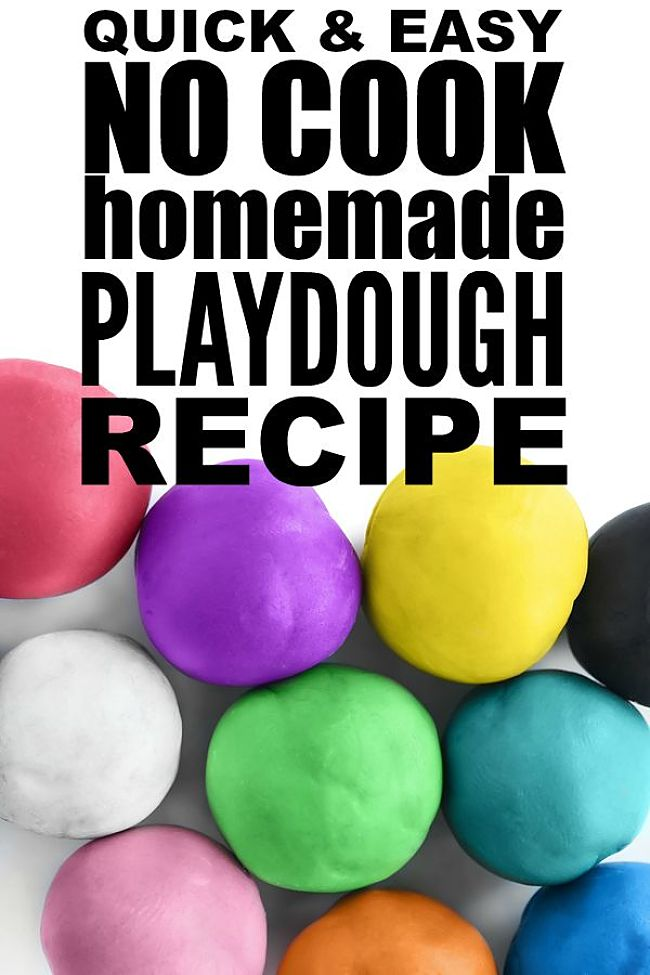 Discover the wonderful range of playdough recipes in this article