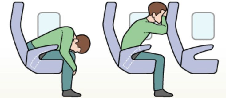 Two brace positions dependent on between seat space