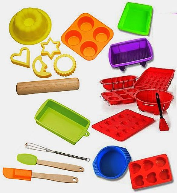 Modern silicone utensils and bakeware are very easy versatile and easy to use. Get all the information about silicone items in this informative article