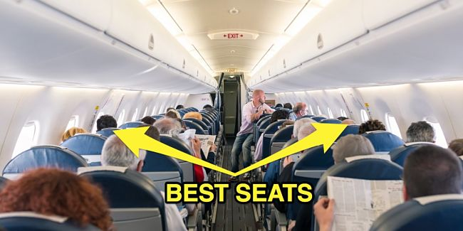 Choosing the best seats with extra leg room away from the aisle helps to avoid disturbance